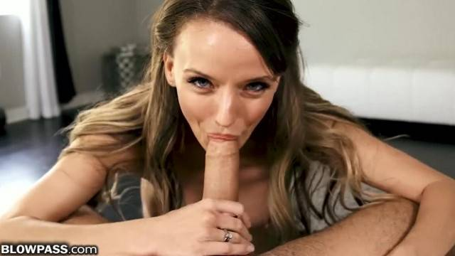 BlowPass MILF Pristine Edge says she can Swallow MOST Big Dicks
