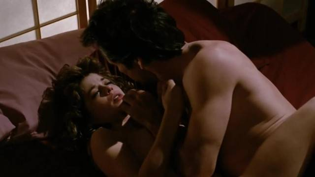 Linda Hamilton Romantic Sex Scene