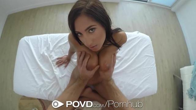 POVD Stacy Jay Big Rack Wobbles when Fucked POV Style