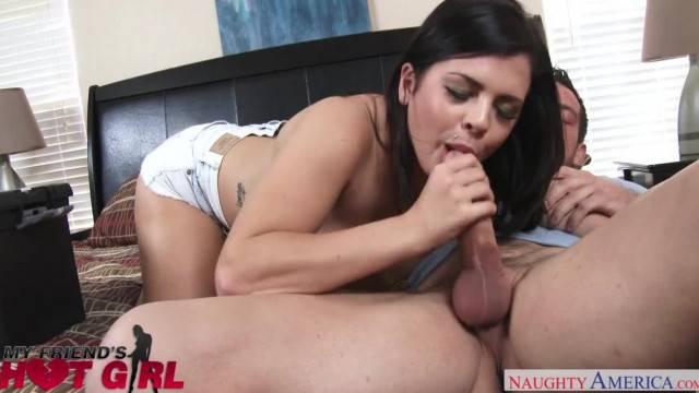 Big Tits Babe Keisha Grey Fucks her Boyfriends Buddy Naughty America