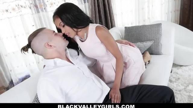 BlackValleyGirls Sexy Ebony Tutor Fucked by Huge Cock