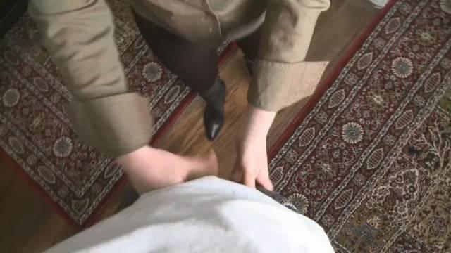 Mistress t like Boots Job