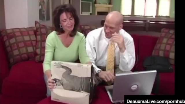 Naughty Wife Deauxma gets Free Advice for Sex from Tax Man