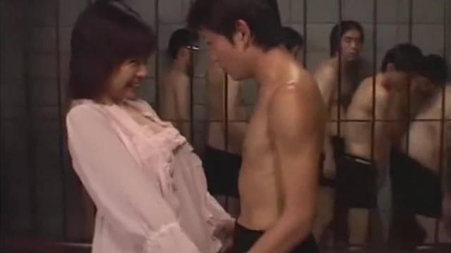 Cum Asylum Japanese Bukkake Orgy