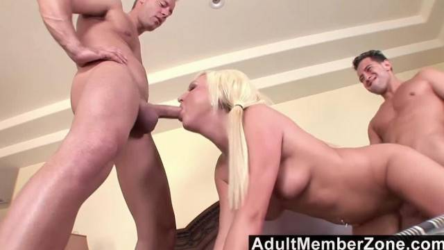AdultMemberZone Young Kendra Fucked by 2 Studs