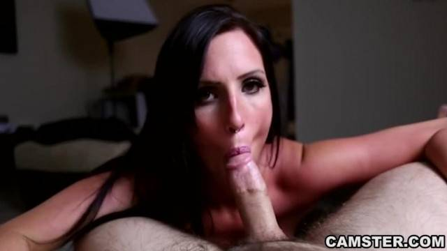 Slowly Jerking and Sucking her Mans Dick POV