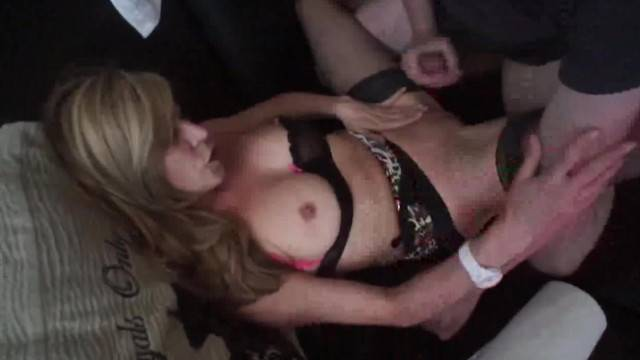 Maried Cougar milf with Young Lover in Front of Cuckold Hubby