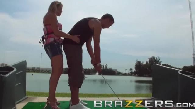 BRAZZERS Golf Bunny Charisma Cappelli Likes it Rough