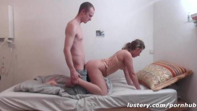 Real Couple Engaging in Loving Passionate Sex Lustery
