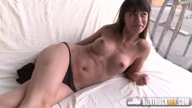 Amazing Mona Kim gives a Facefucking Blowjob in Public