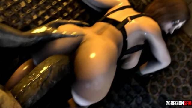 Jill Valentine VS Regenerator POV SFM Monster 26regionsfm