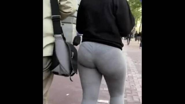 PhAT BOOTY LATINA VPL IN LEGGINGS