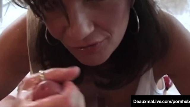 Super Hot Milf Deauxma Hubby have Great Oral Anal Sex