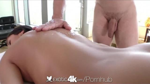 Exotic4k Brunette Chloe Amour Massage Fuck and Cum Explosion