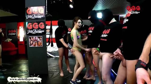 Khadisha Latina the little Cock Teaser German Goo Girls