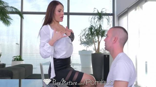 PureMature Kitana Lure s Pink Pussy will make your Cock Hard