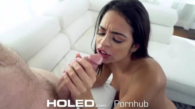 HOLED GAPING Ass FUCKED with Messy Facial