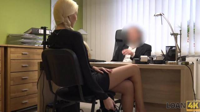 LOAN4K Sex Casting is Performed in Loan Office by Naughty Agent