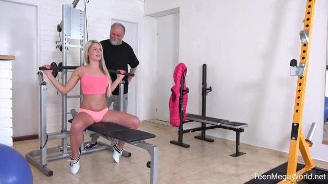 Old n Young com Martina D Gym Brings Sex Addicts together