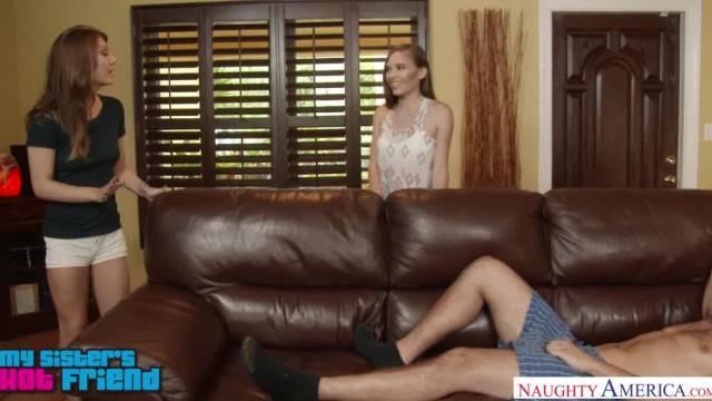 Girl next Door Skye West Bangs her Friend s Lazy Brother Naughty America