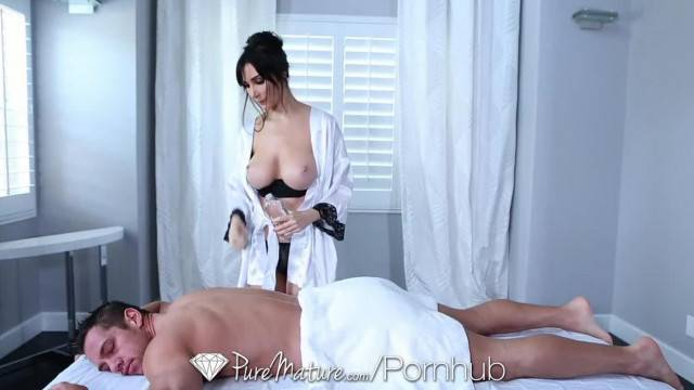 PureMature Diana Prince gets Anal Fucked after Hot Massage