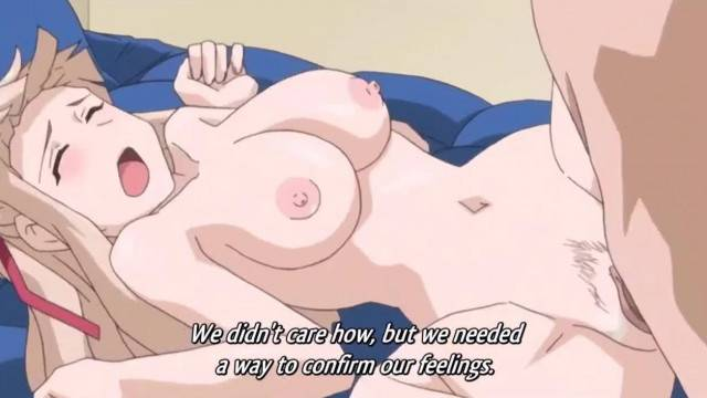 Anime Girl with Big Boobs gets Fucked by her Teacher uncensored