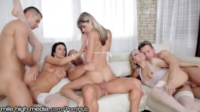Wow THIS Orgy with Tight Euro Babes