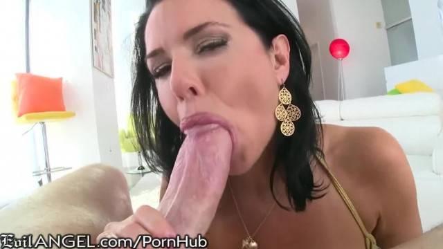 EvilAngel Veronica Avluv Ball Suck and Gape Fuck
