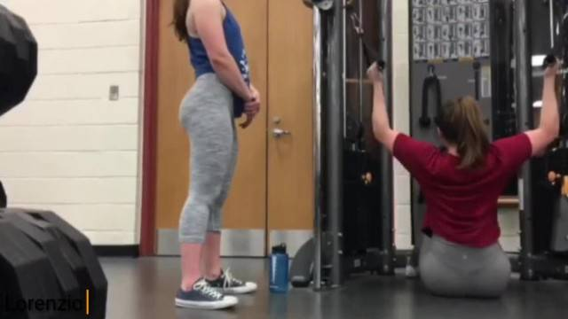 Big Booty Teens Working out