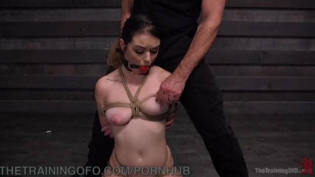 Pretty Submissive Pays for her Pleasure