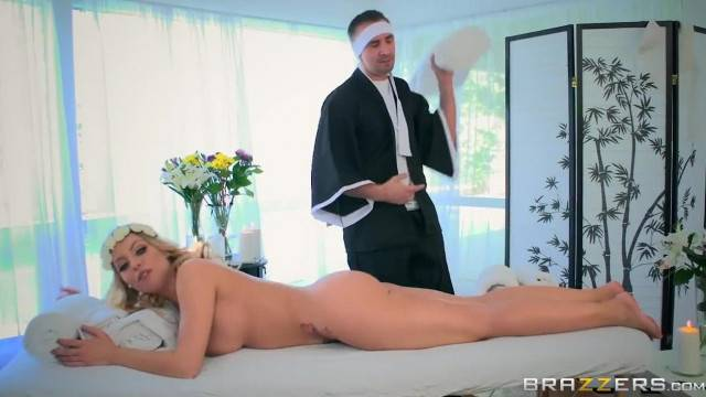 Britney Amber Loses Massages and Cock Brazzers