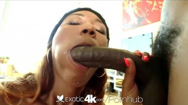 Exotic4K Chanell Heart is Fucked Hard by a Black Cock