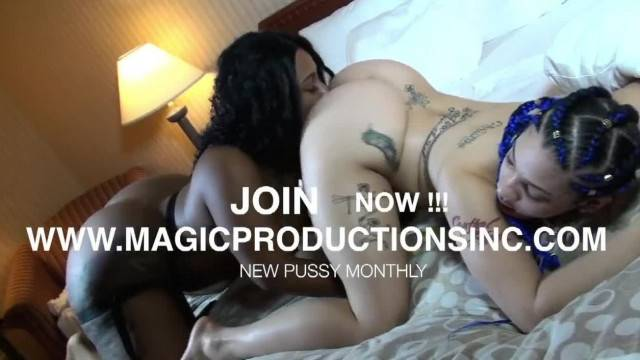 CHERISE ROZE STRAPS UP AND DESTROYS MS NATURAL PUSSY