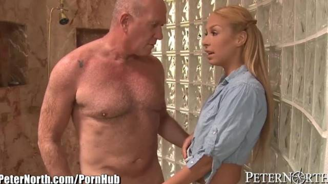Carmen Caliente Convinces Step Dad to Fuck her Horny Pussy