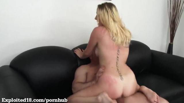 Cute Teen gets Pounded on the Casting Couch