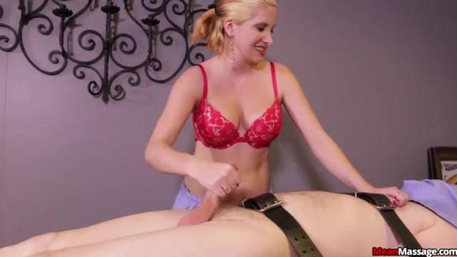 Blonde Woman Cock Punishment