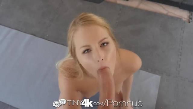 Tiny4k Soccer Cutie Long Dick Gym Fuck with Scarlett Sage