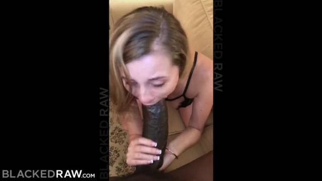 BLACKEDRAW Small Blonde Teen Destroyed by the Biggest Cock ever seen