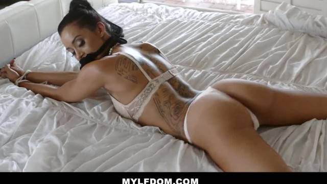 MYLFDOM Sexy Tan MILF gets Dominated and Fucked