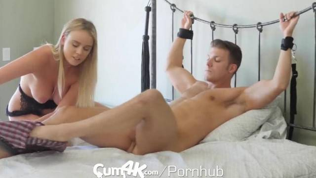 CUM4K Cum DRIPPING Dominatrix gets MULTIPLE Creampies