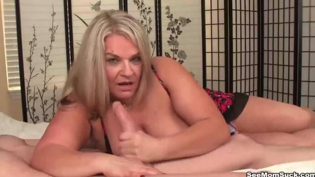 Busty Mature Lady Loves Young Cocks