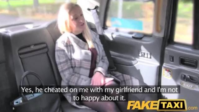 FakeTaxi Revenge Fuck for Bisexual Blonde
