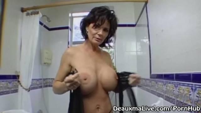 Mature MILF Deauxma Rides her Boy Toys Big Cock