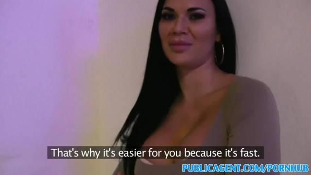 PublicAgent British Big Tits Babe Loves a Facial