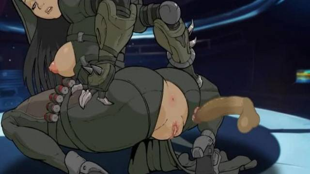 Reaper Anal Rodeo with Busty Female Character