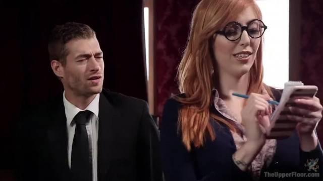 Journalist Whore gets her inside Scoop