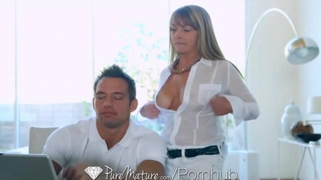 PureMature Hot MILF Shayla Laveaux wants some Hard Cock