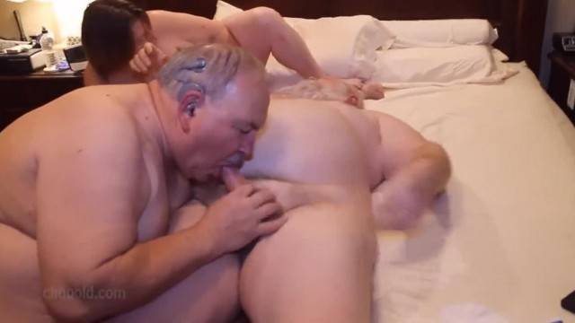 Chubby Grandpa Suck my Grandpa Cock