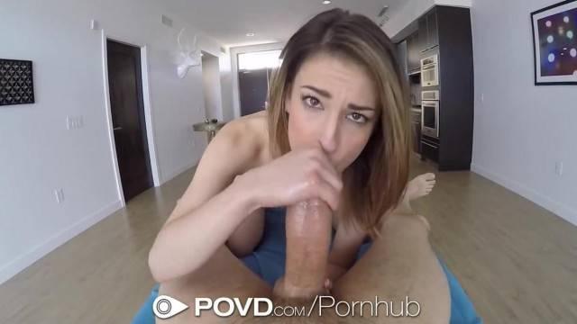 POVD Petite Kristen Scott Shows off her Sex Skills POV Style