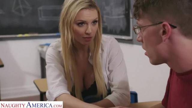 Naughty America Professor McKenna Fucks Student after Class